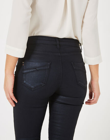 William coated navy blue trousers (4) - 1-2-3