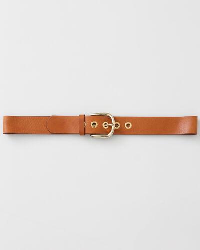 Yohan camel leather belt (1) - 1-2-3