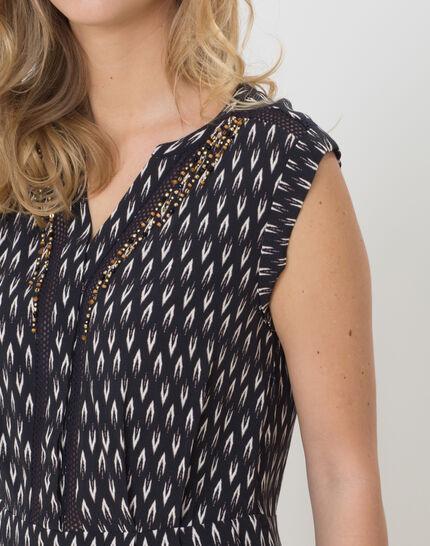Boubou ethnic print dress (6) - 1-2-3