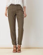 Dana flowing khaki combat trousers kaki.