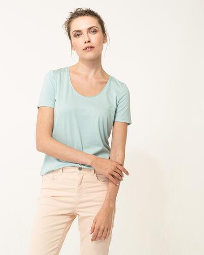 Tee-shirt bleu ciel Noon (1) - 1-2-3