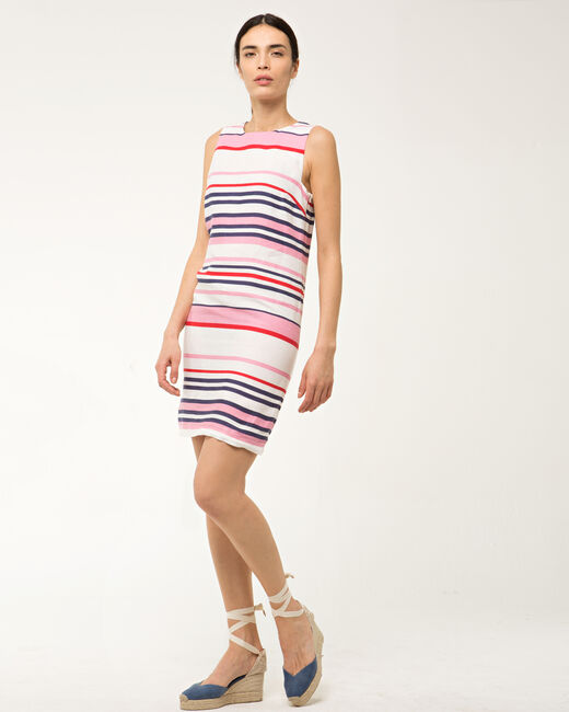 Bérangère linen striped dress (1) - 1-2-3