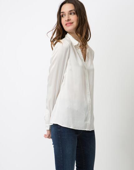 Dany ecru silk shirt (3) - 1-2-3