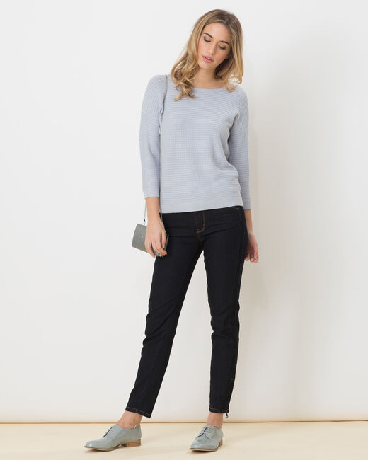 Hélice pastel blue sweater with long sleeves (2) - 1-2-3