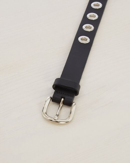 Oratio fine black leather belt (2) - 1-2-3