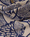 Stacy floral indigo printed scarf (1) - 1-2-3