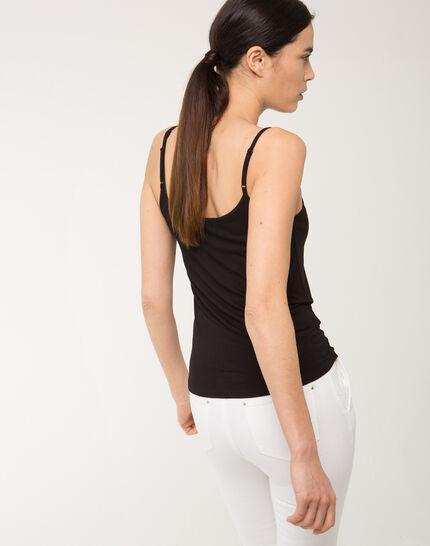 Nina black vest top (4) - 1-2-3