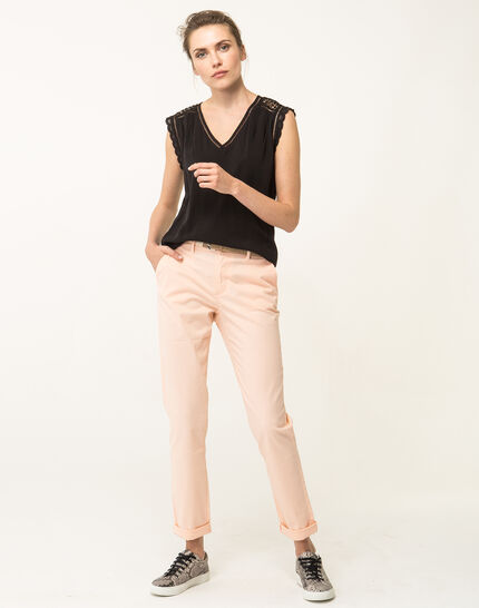 Francis apricot 7/8 length trousers (4) - 1-2-3