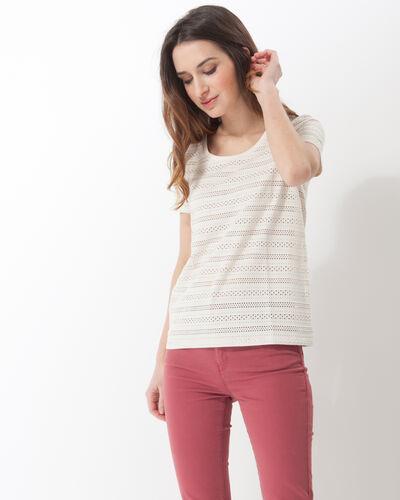 Neige pale yellow lace T-shirt (1) - 1-2-3