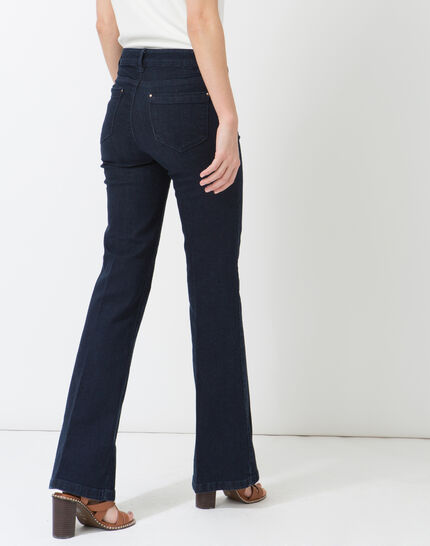 Untreated wide-leg jeans (3) - 1-2-3