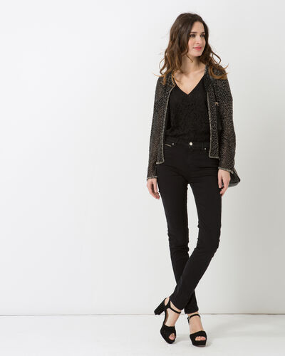 Katy black embroidered jacket (1) - 1-2-3