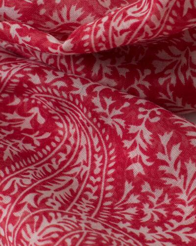 Sun raspberry printed scarf (2) - 1-2-3