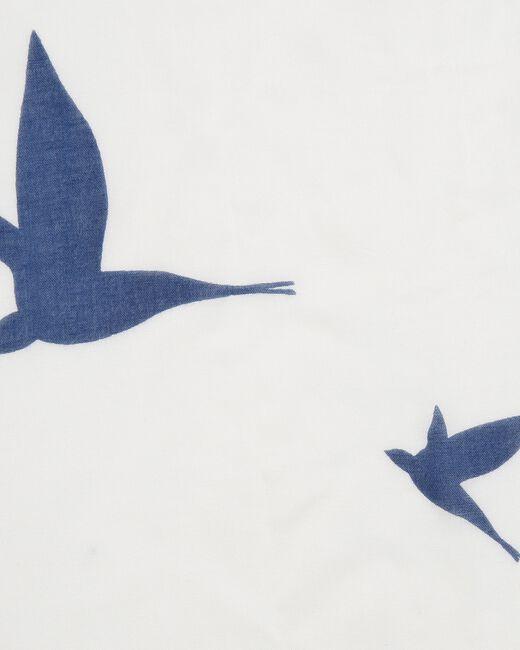 Ellora bird printed scarf (1) - 1-2-3