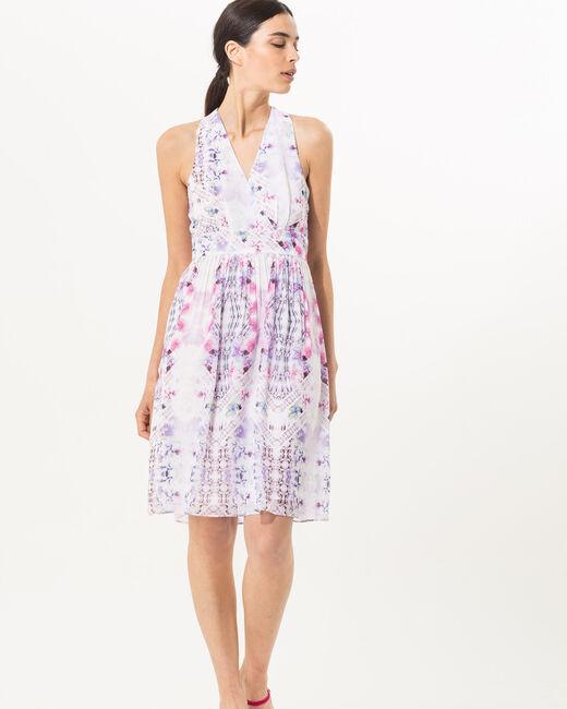 Robe imprimée lilas Florane (1) - 1-2-3