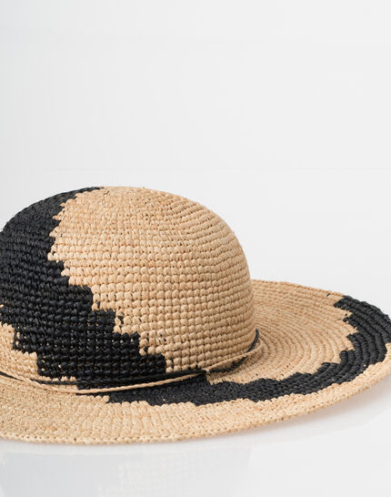 Johnny broad-brimmed straw hat (6) - 1-2-3