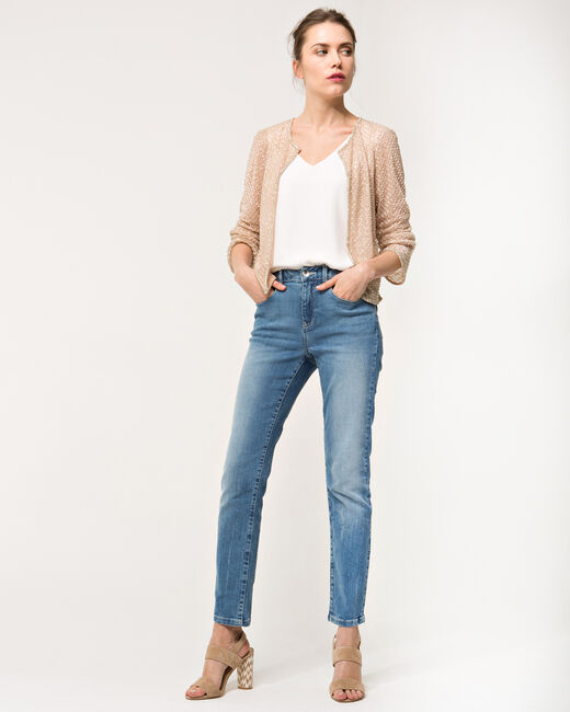 Katy pale pink embroidered jacket (1) - 1-2-3