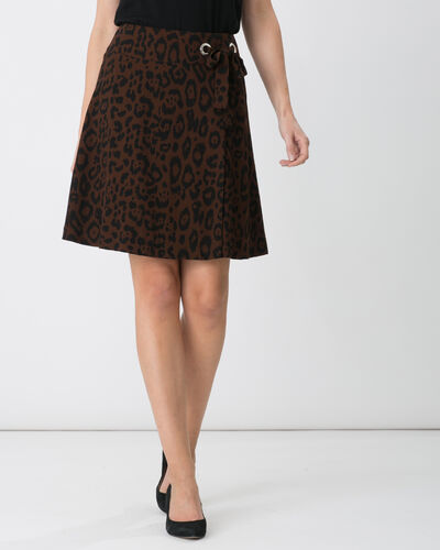 Donuts animal print dance skirt (1) - 1-2-3