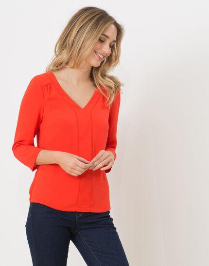 Nuage orangey T-Shirt (4) - 1-2-3