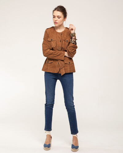 Gaspard camel safari jacket (1) - 1-2-3