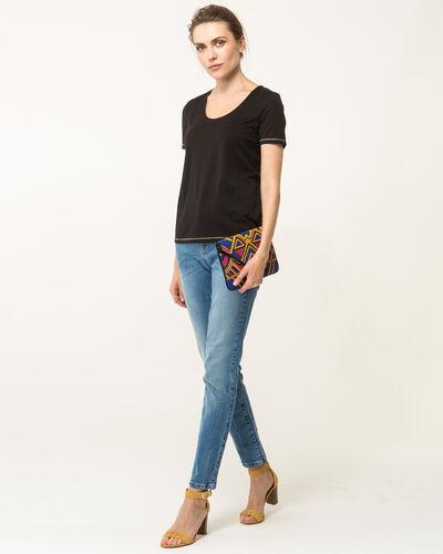 Tee-shirt noir Noon (2) - 1-2-3