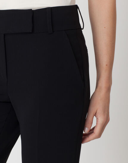 Super straight-cut black trousers (5) - 1-2-3