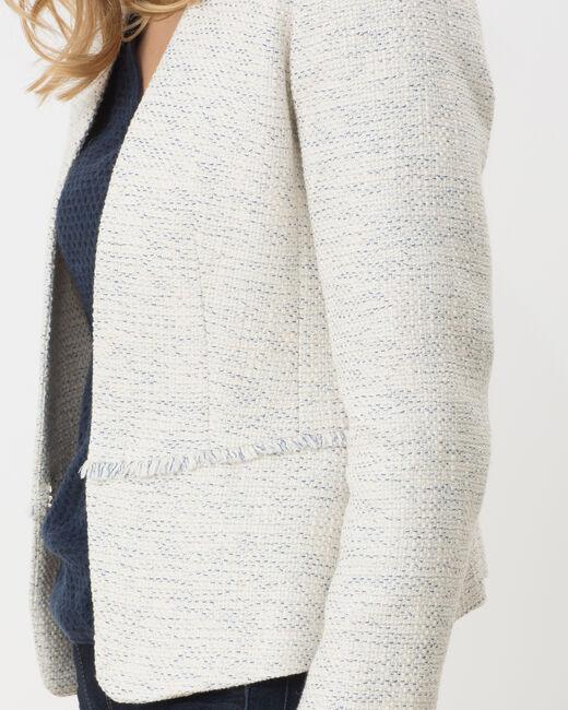 Veste de tailleur bleu pâle Aude (1) - 1-2-3