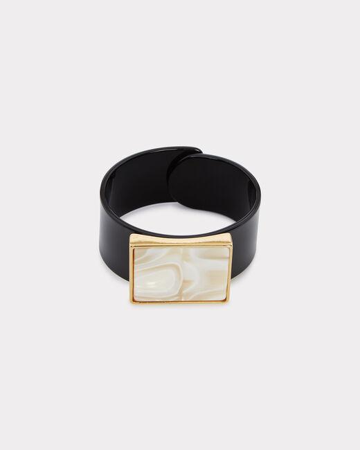 Ilan black cuff bracelet (1) - 1-2-3