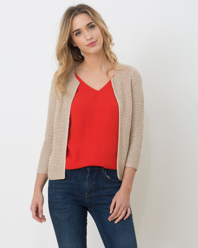 History beige knitted jacket (2) - 1-2-3