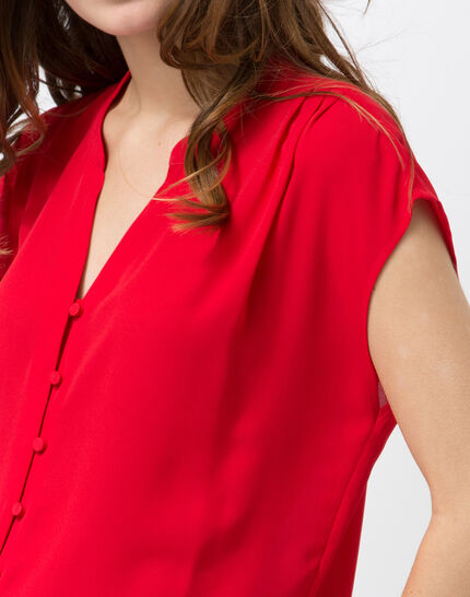 Fiona red blouse (2) - 1-2-3