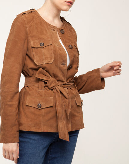 Gaspard camel safari jacket (4) - 1-2-3