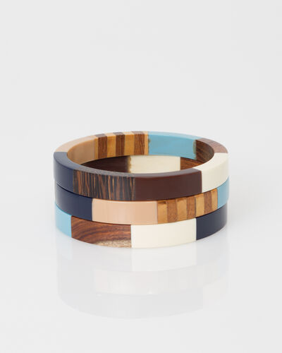 Woody bracelets in wood (1) - 1-2-3