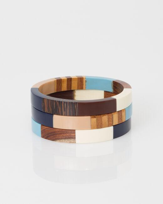 Bracelets en bois Woody (1) - 1-2-3