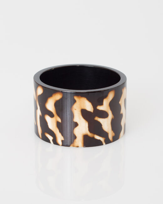 Bracelet manchette imprimé animalier Waka (1) - 1-2-3