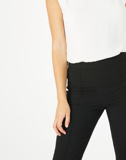 Pantalon de tailleur noir Vilona (5) - 1-2-3
