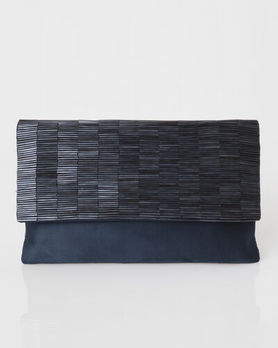 Priyanka blue beaded clutch bag (2) - 1-2-3