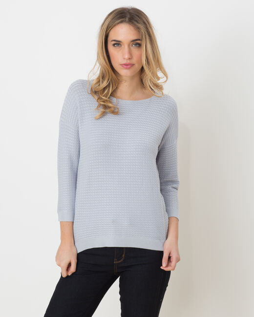 Hélice pastel blue sweater with long sleeves (1) - 1-2-3