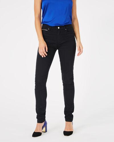 Pantalon noir slim William (2) - 1-2-3