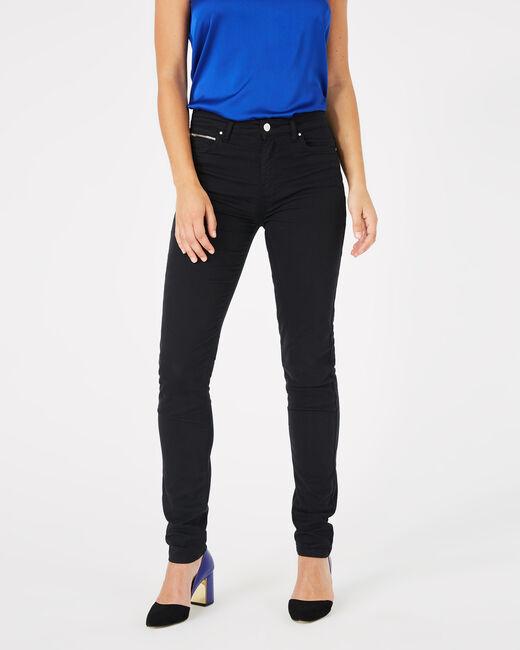 William black satin trousers (2) - 1-2-3
