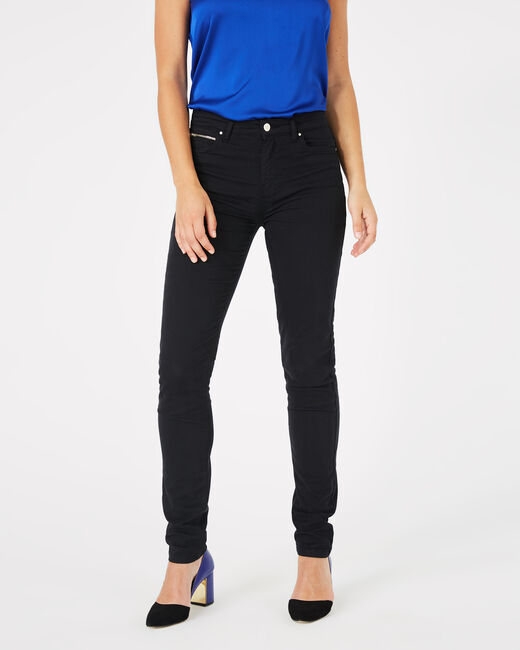 Pantalon satin noir William (2) - 1-2-3