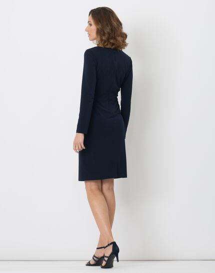 Bermude navy blue dress (5) - 1-2-3