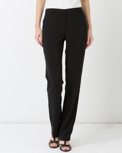 Pantalon de tailleur noir Natura (2) - 1-2-3