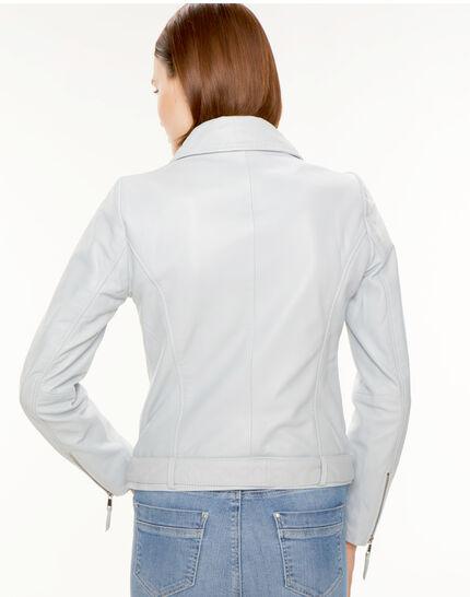 Gabriel blue biker-style leather jacket (4) - 1-2-3