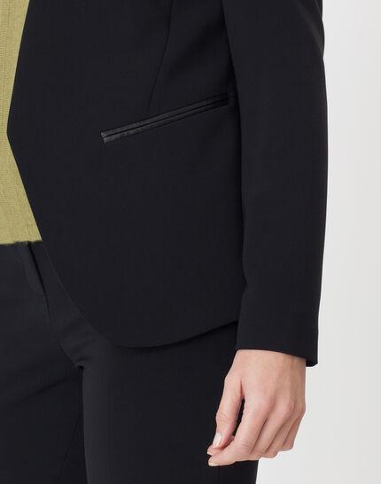 Maite black jacket with belt (5) - 1-2-3