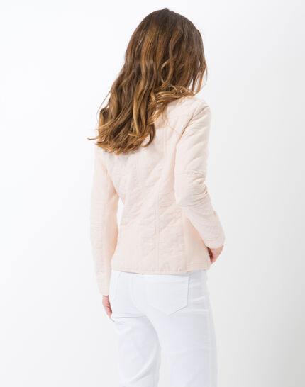 Olympe powder pink quilted parka (4) - 1-2-3