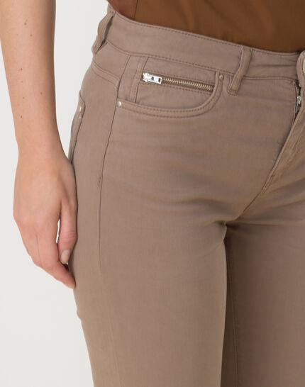 William taupe satin trousers (5) - 1-2-3