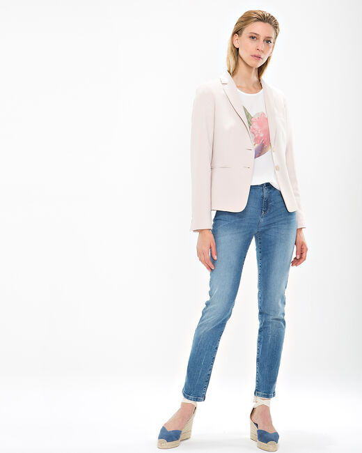Eve beige fitted jacket (1) - 1-2-3
