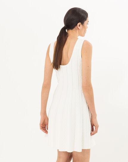 Blake white knitted dress (4) - 1-2-3