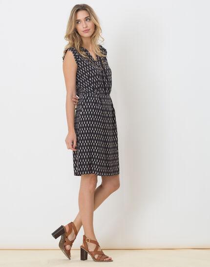 Boubou ethnic print dress (3) - 1-2-3