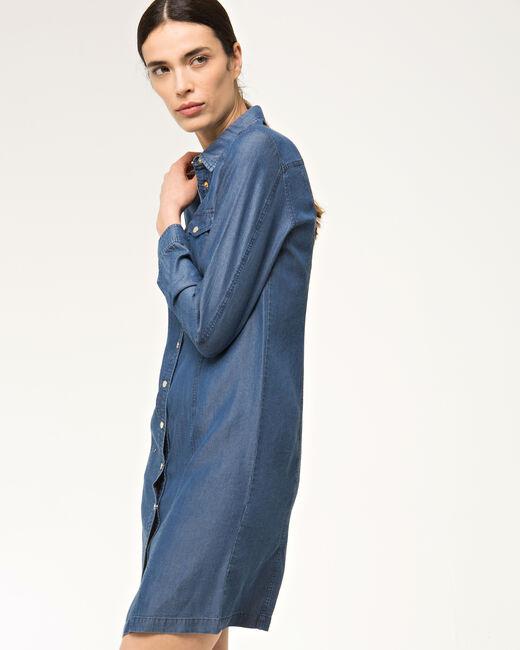 Robe chemise bleue Biguine (2) - 1-2-3