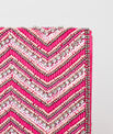 Prune beaded pink clutch PhotoZ | 1-2-3